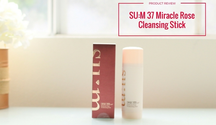 Review: Sum: 37 Miracle Rose Cleansing Stick