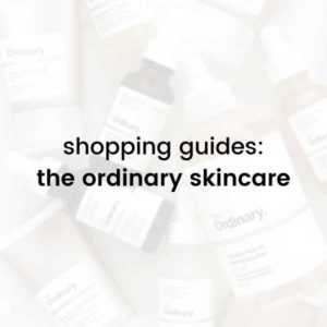 the ordinary shopping guide page link