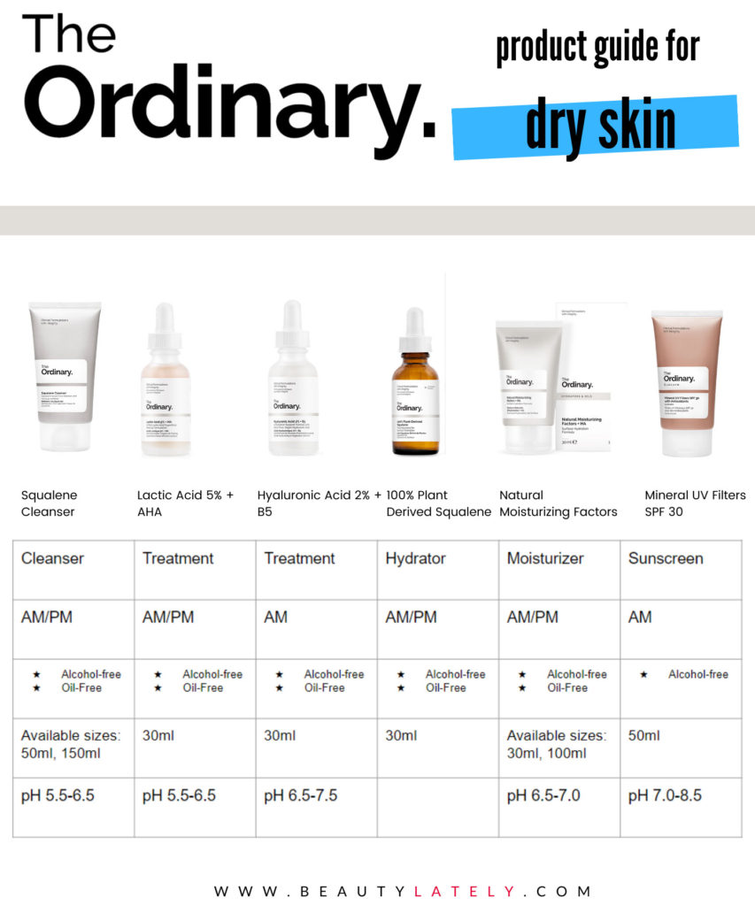 The Ordinary Dry Skin Product Roundup